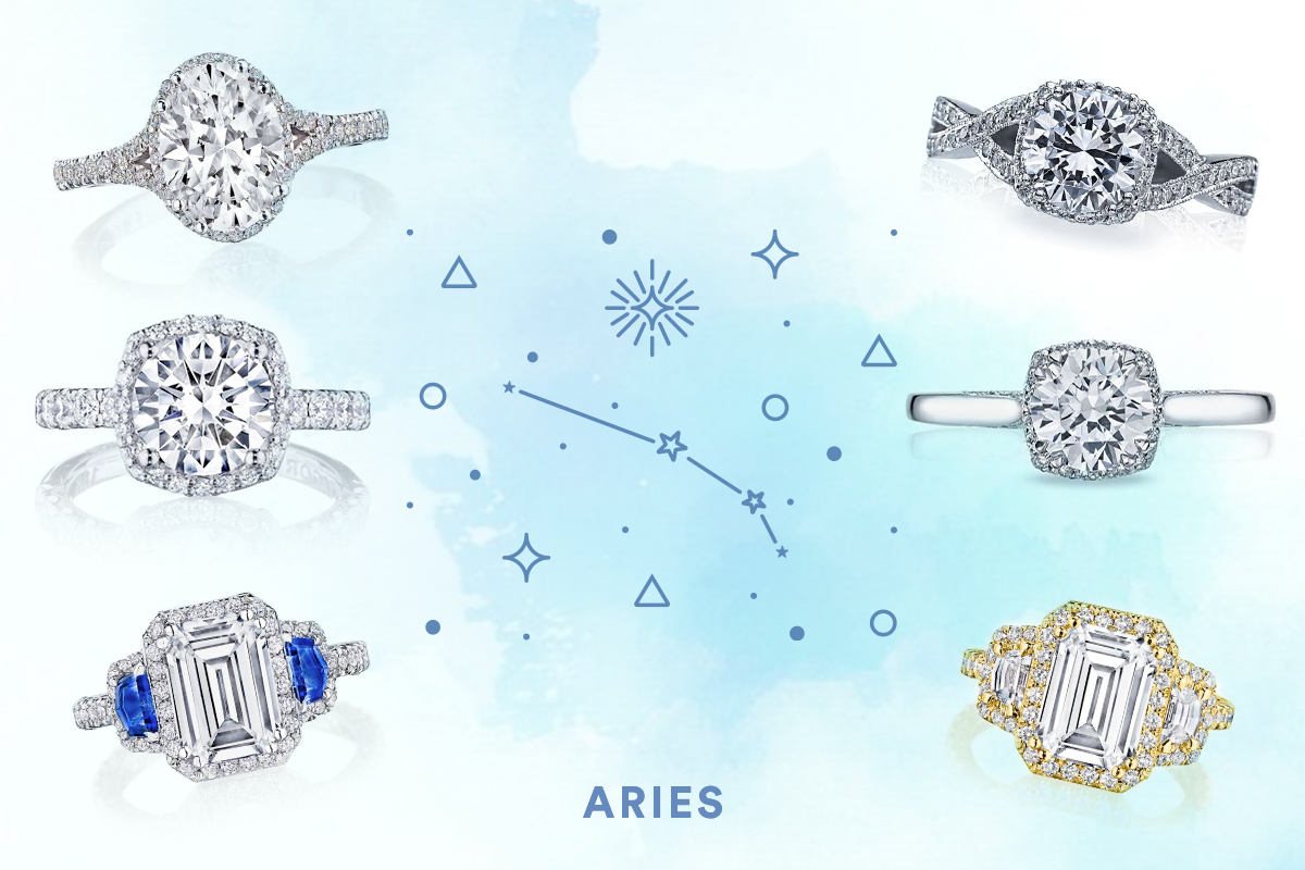 The Best Engagement Rings for Aries