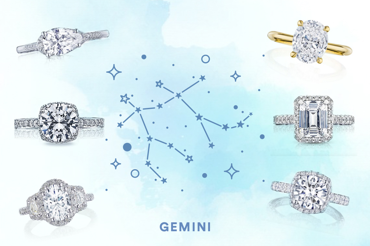 The Best Engagement Rings For Gemini