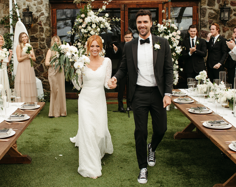 Actress, Brittany Snow Weds Tyler Stanaland in Malibu