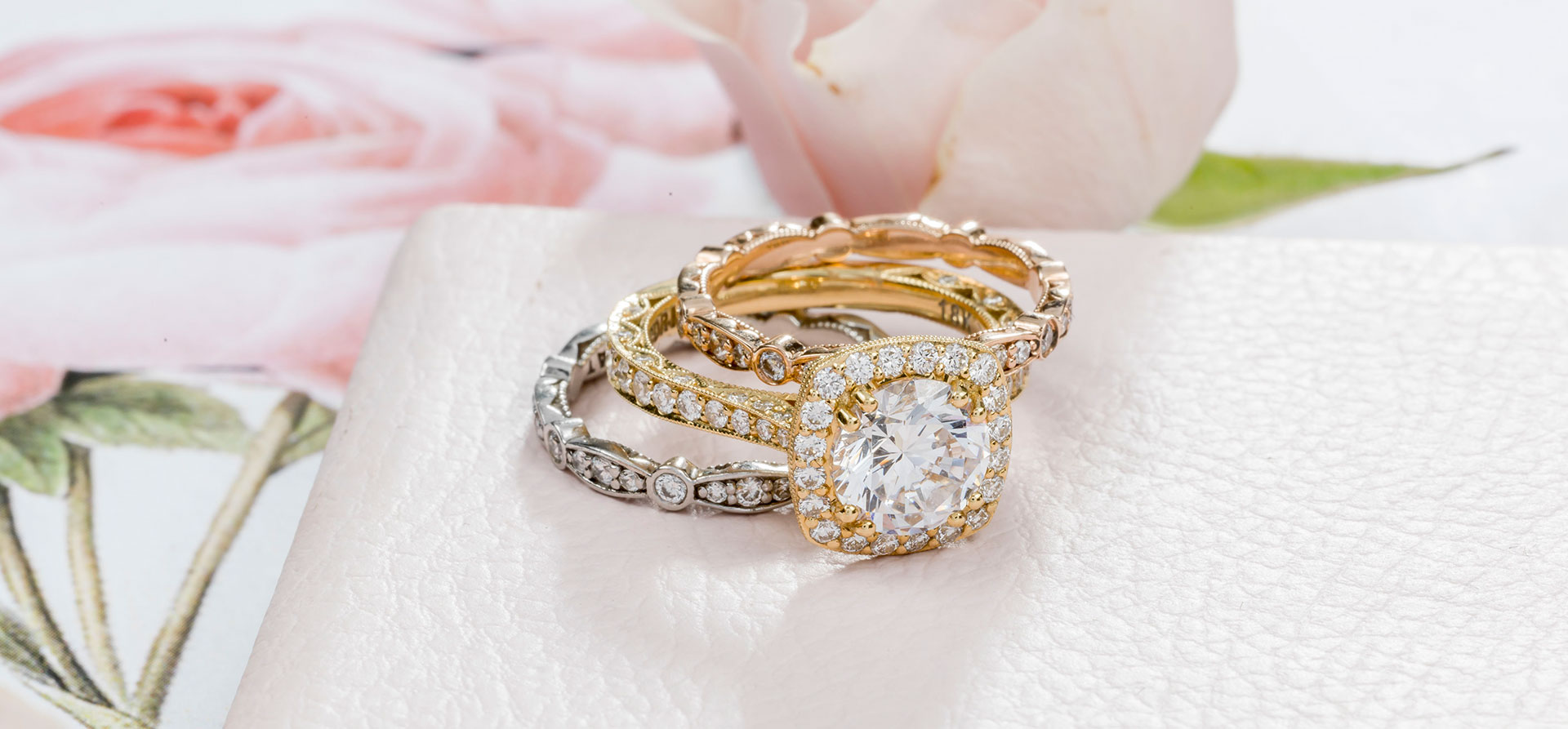 The 5 Best Engagement Ring – and – Wedding Band Combos
