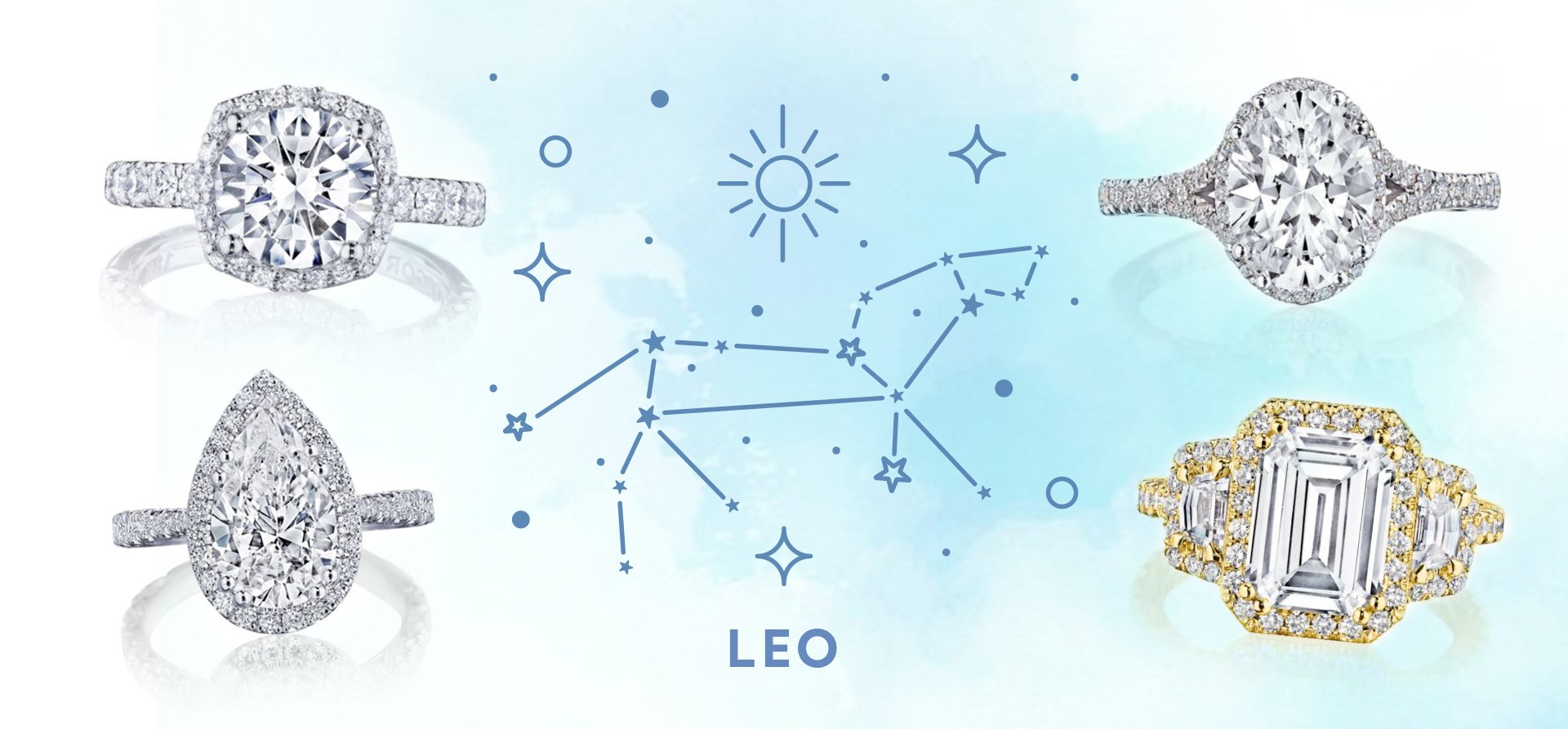 The 10 Best Engagement Rings for Leo